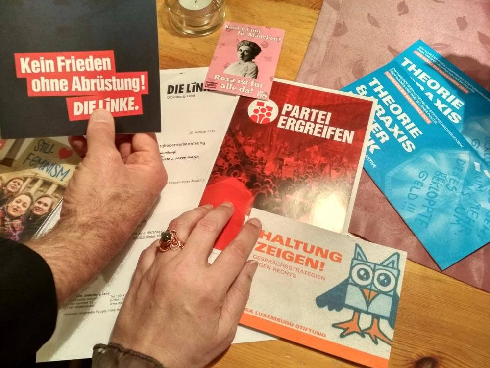 Materialien, offener LINKS-Treff