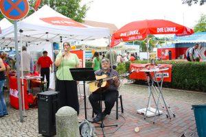 Bürgerfest Hude mit Gesang