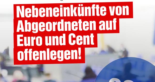 Bundestag Abstimmung Lobbyregister