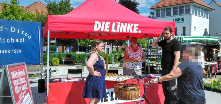 DIE-LINKE-Infostand-Hude-25052018