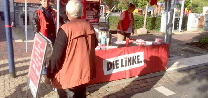 Infostand Bürgerfest Hude