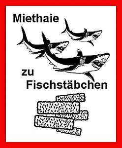 Miethaie zu Fischstäbchen-Aktion-DIE-LINKE