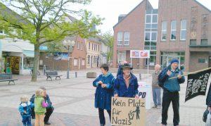 Spontane Aktion gegen Nazis in Wildeshausen